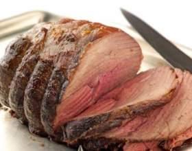 Как запечь кусок мяса в духовке фото