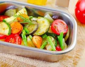 Как запекать овощи в духовке фото