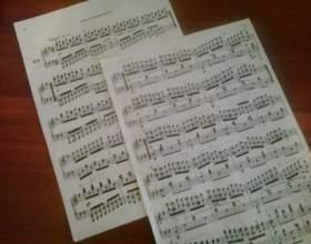 Как записать мелодию на ноты фото