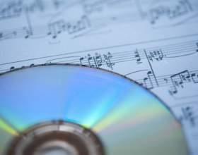 Как записать музыкальный cd-диск фото