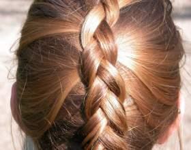 Как заплести волосы средней длины фото