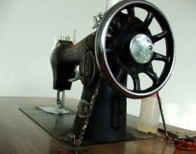 Как заправить нитку в швейную машинку фото