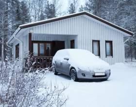 Как запустить машину в мороз фото