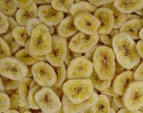 Как засушить бананы фото