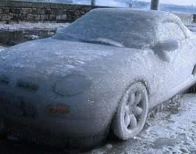 Как завести замерзший двигатель фото