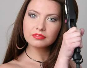 Как завить волосы с помощью утюжка фото