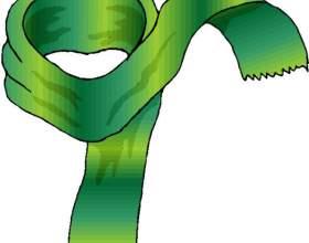 Как завязать мужской шарф фото