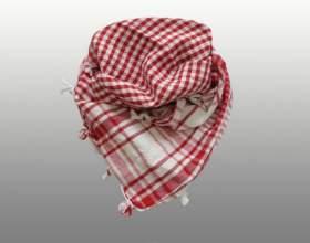 Как завязывать арабский шарф фото
