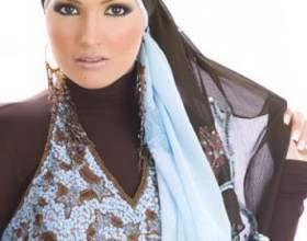 Как завязывать платок мусульманкам фото