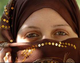 Как завязывать платок по-арабскии фото