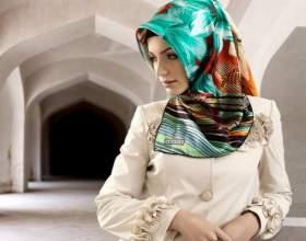 Как завязывать восточный платок фото