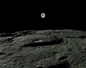 Как земля выглядит с луны фото
