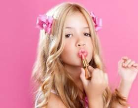 Какая декоративная косметика подходит для девочек фото