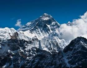 Какая гора самая высокая в мире фото