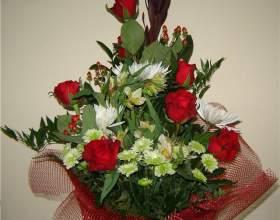 Какие цветы дарят мужчине фото