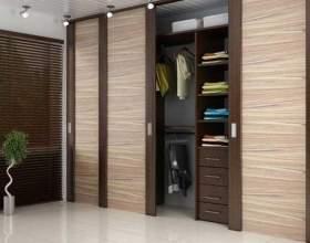 Какие двери для гардеробной комнаты лучше фото