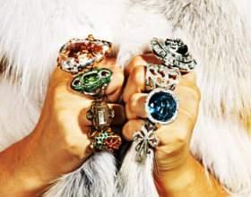 Какие кольца сейчас в моде фото