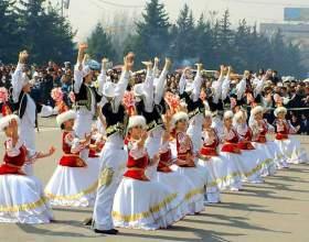 Какие праздники отмечаются в казахстане фото