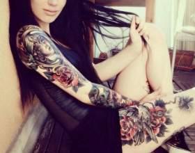 Какие татуировки называют готическими фото