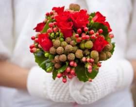 Каким должен быть зимний букет невесты фото