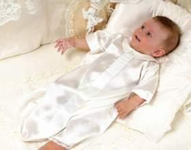 Какой должна быть крестильная рубашка для мальчика фото