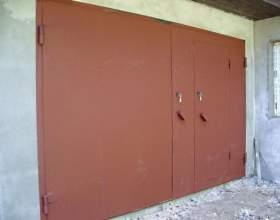 Какой краской лучше всего покрасить гаражные ворота фото