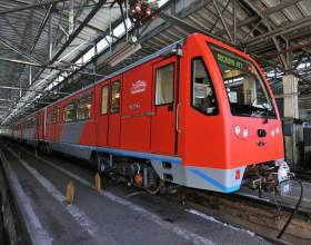 Какой новый поезд запущен в метро фото