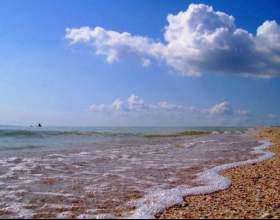 Какова глубина азовского моря фото