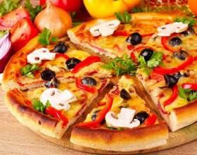 Какую приготовить грибную пиццу фото