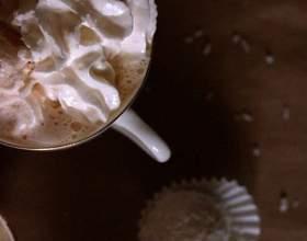 Кофе «рафаэлло» с эспрессо фото