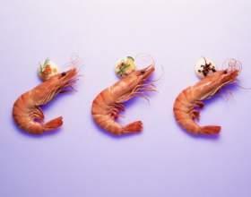 Креветки в слоеном тесте фото