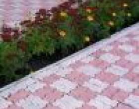 Купить или сделать формы для тротуарной плитки? фото