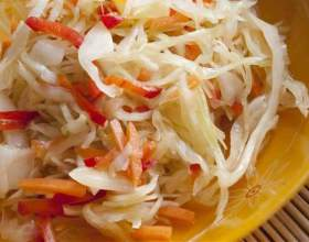 Квашеная капуста быстрого приготовления: необычные рецепты фото