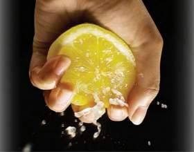 Лимон для рук и ногтей фото