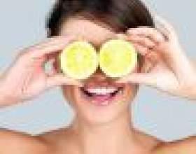 Лимон против черных точек фото
