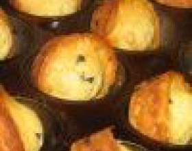 Маффины с яблоками фото