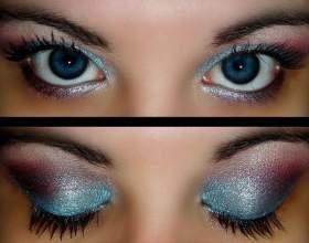 Макияж для больших голубых глаз фото
