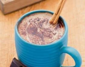 Мексиканский горячий шоколад фото