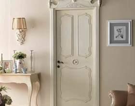 Межкомнатные и входные двери в стиле прованс фото