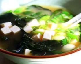 Мисо суп с тофу и шиитаке фото