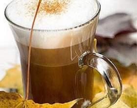 Мятный шоколадный кофе фото