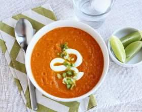 Морковный суп с имбирём фото