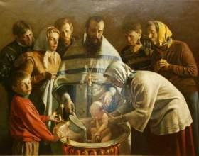 Можно ли крестить младенца без крестных родителей фото