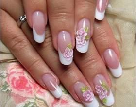 Наращивание ногтей в домашних условиях фото