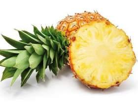 Несколько признаков спелого ананаса фото
