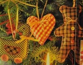 Новогодняя ёлка: сделаем игрушки сами декабрьскими вечерами фото