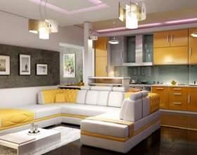 Нужна ли кухня-студия в частном доме фото