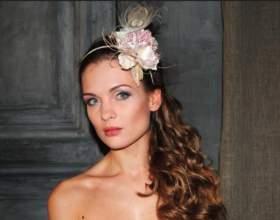 Ободок-шляпка - аксессуар для элегантных женщин фото
