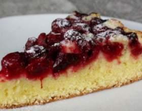 Открытый пирог с ягодами фото