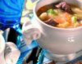 Овощное рагу со свининой фото
